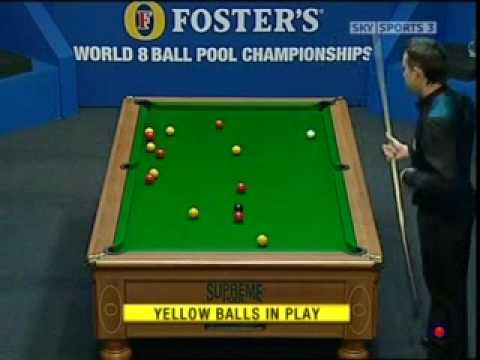 World Eightball Pool Championships 2008 - Final Frame