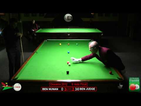 Oceania 6 reds final 2012 Ben Nunan v Ben Judge