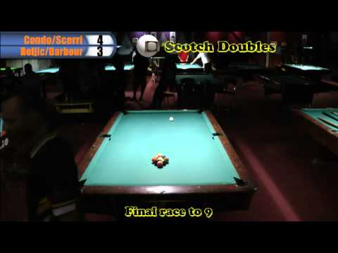 Australian 9 Ball Scotch Doubles Final 2012