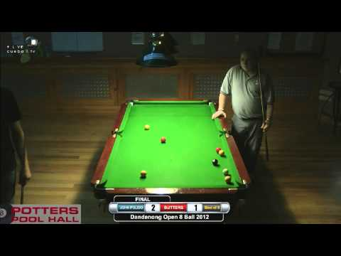 Dandenong 8 Ball 2012 Final John Polido v Peter Butterworth