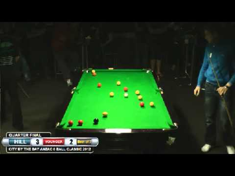 City by the Bay 8 Ball 2012 Quarter final Mick Hill v Johl Younger