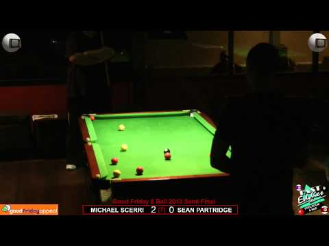 Good Friday 8 Ball 2012 Semi Final Sean Partridge v Michael Scerri