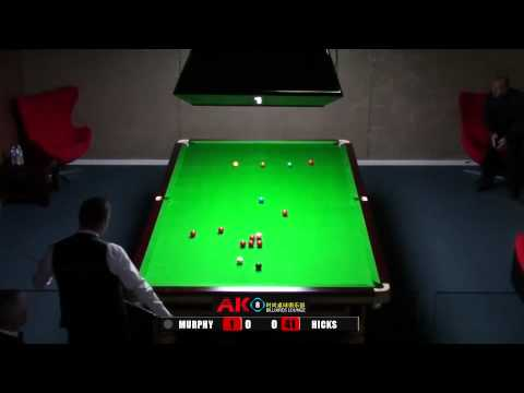 AK8 Shaun Murphy exhibition v Andrew Hicks frame 1 of 3