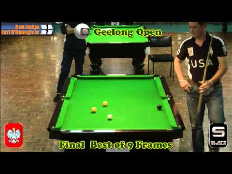 Geelong Open 8 Ball 2012 Final