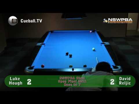 NSWPBA 9ball Open final 2011