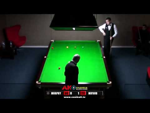 AK8 Shaun Murphy exhibition v James Mifsud frame 2 of 3