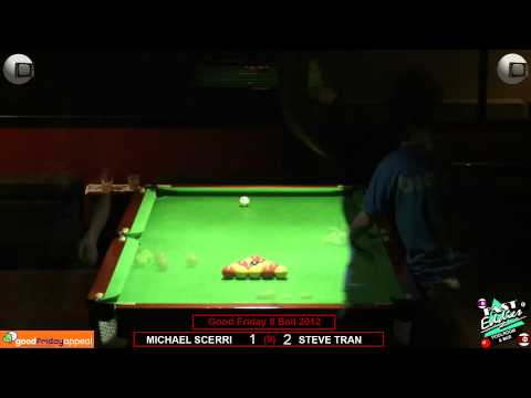 Good Friday 8 Ball 2012 Final Steve Tran v Michael Scerri