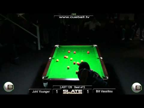 Slate Open 8 Ball 2011 Last 128 Johl Younger v Bill Vassiliou