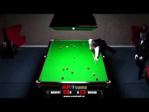 AK8 Shaun Murphy exhibition v James Mifsud frame 1of 3