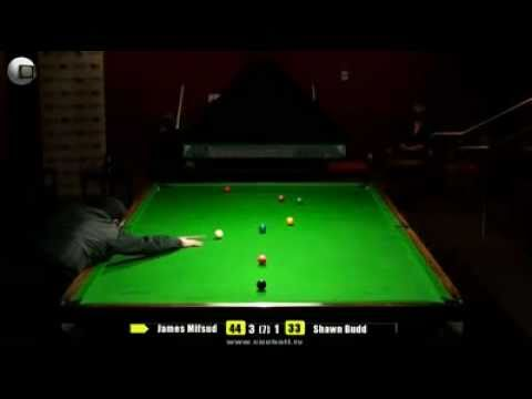 City of Melbourne Snooker 2011 Final James Mifsud v Shawn Budd.mp4