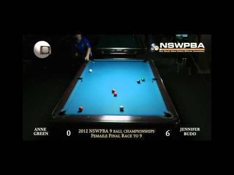 2012 NSWPBA 9ball Championships female
