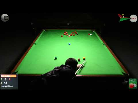 Oceania Snooker 2012 Mens Final Ben Judge v James Mifsud 2 of 2