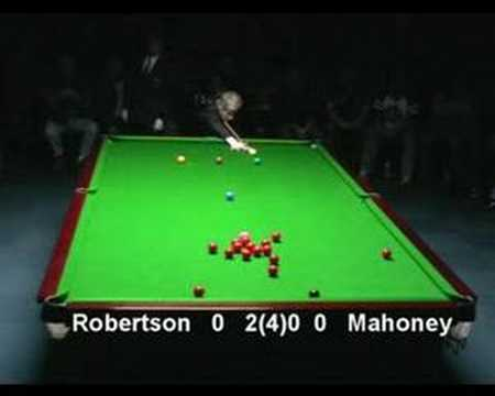 Neil Robertson cue power
