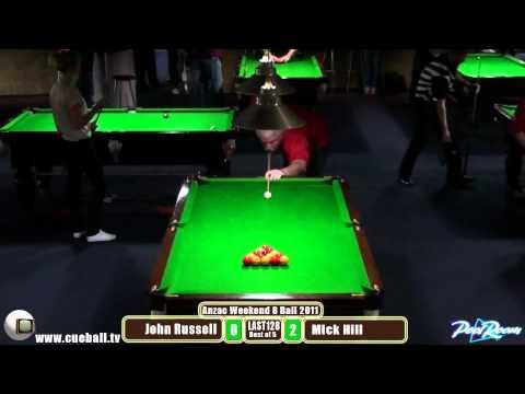 Anzac 2011 Last 128 Mick Hill v John Russell