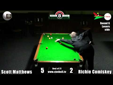 Big Guns 2011 Scott Matthews v Richie Comiskey
