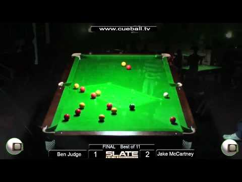 Slate Open 8 Ball 2011 Final Ben Judge v Jake McCartney