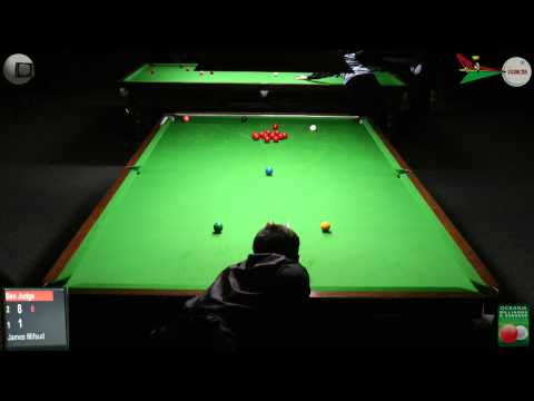 Oceania Snooker 2012 Mens Final Ben Judge v James Mifsud 1 of 2