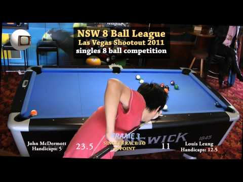 NSW 8 Ball League Final 2011 Las Vegas Shootout