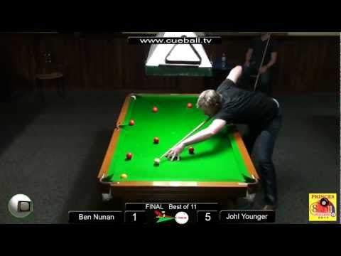 Princes 8 ball challenge 2011 Final Johl Younger v Ben Nunan