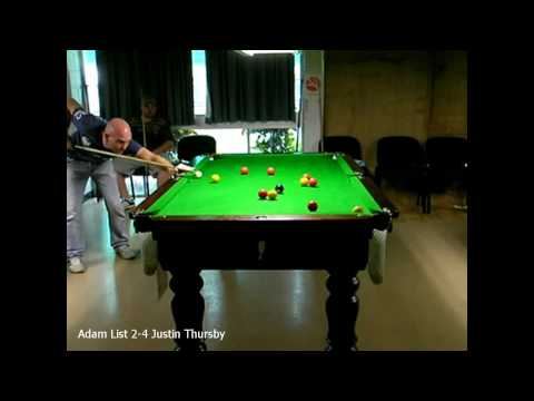 Townsville 8ball Open 2010 Adam List 2-4 Justin Thursby
