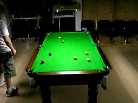 Townsville 8ball Open 2010 Brent Read 5-2 Chris Bingley