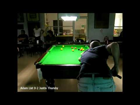 Townsville 8ball Open 2010 Adam List 0-2 Justin Thursby