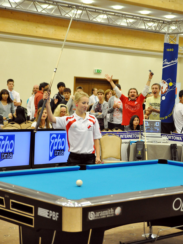 Polish girl wins Junior World 9-Ball Championship