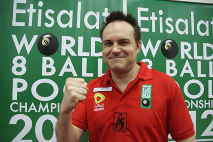 WPA World 8-Ball Championships: USA's Eberle Still in Contention
