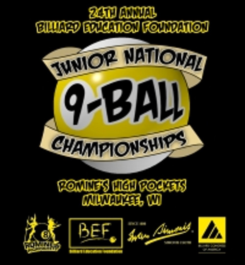 2012 BEF Junior National 9-Ball Championships Underway