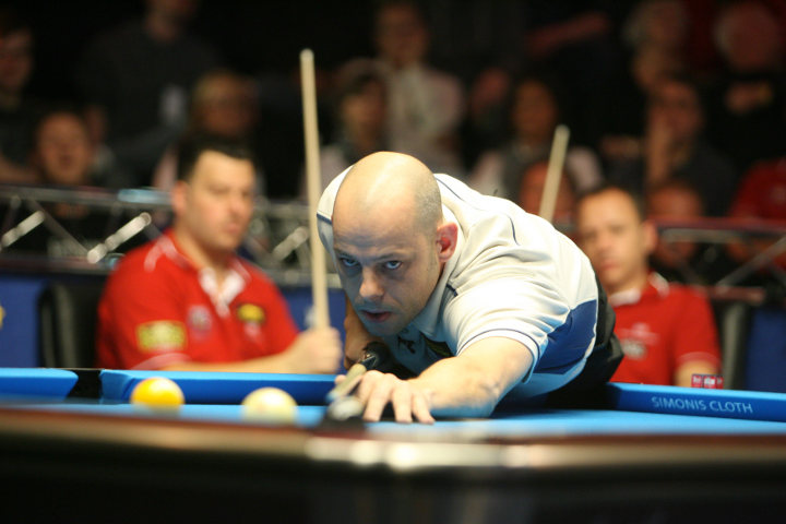 Appleton Leads 2012 European Mosconi Cup Rankings