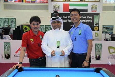 Wei and Lin Play for World 8-Ball Championship