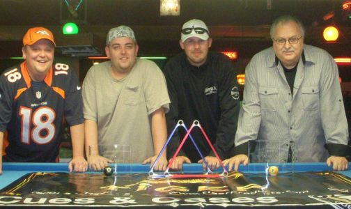 Back and Murphey Best on Great Southern Billiard Tour