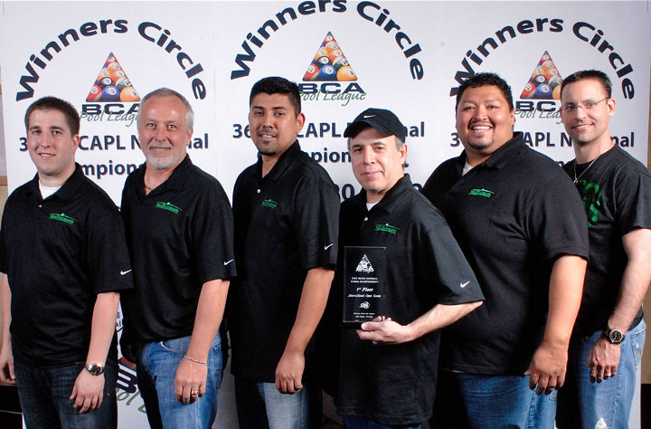 Team McDermott Wins 2012 BCAPL National Championship