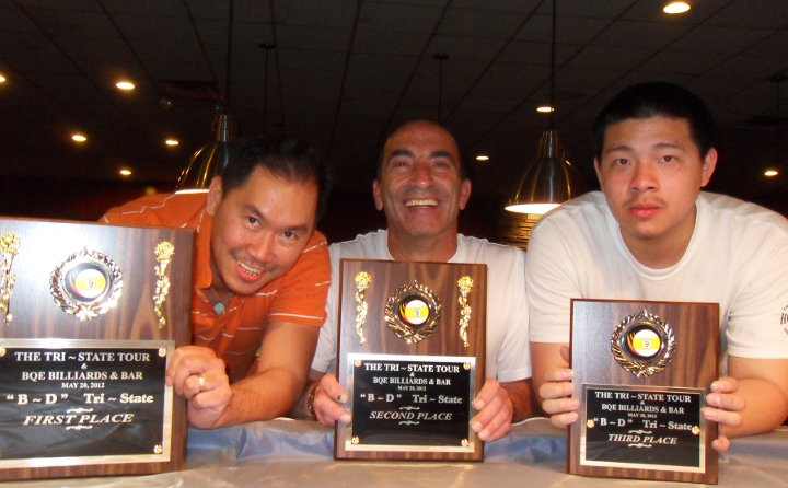 Chau Goes Unchallenged for Tri-State Billiards Win
