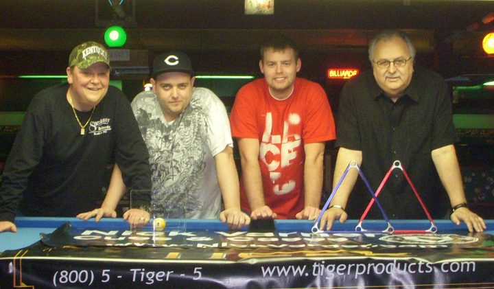 Murphey and Winters Win Great Southern Billiards Titles