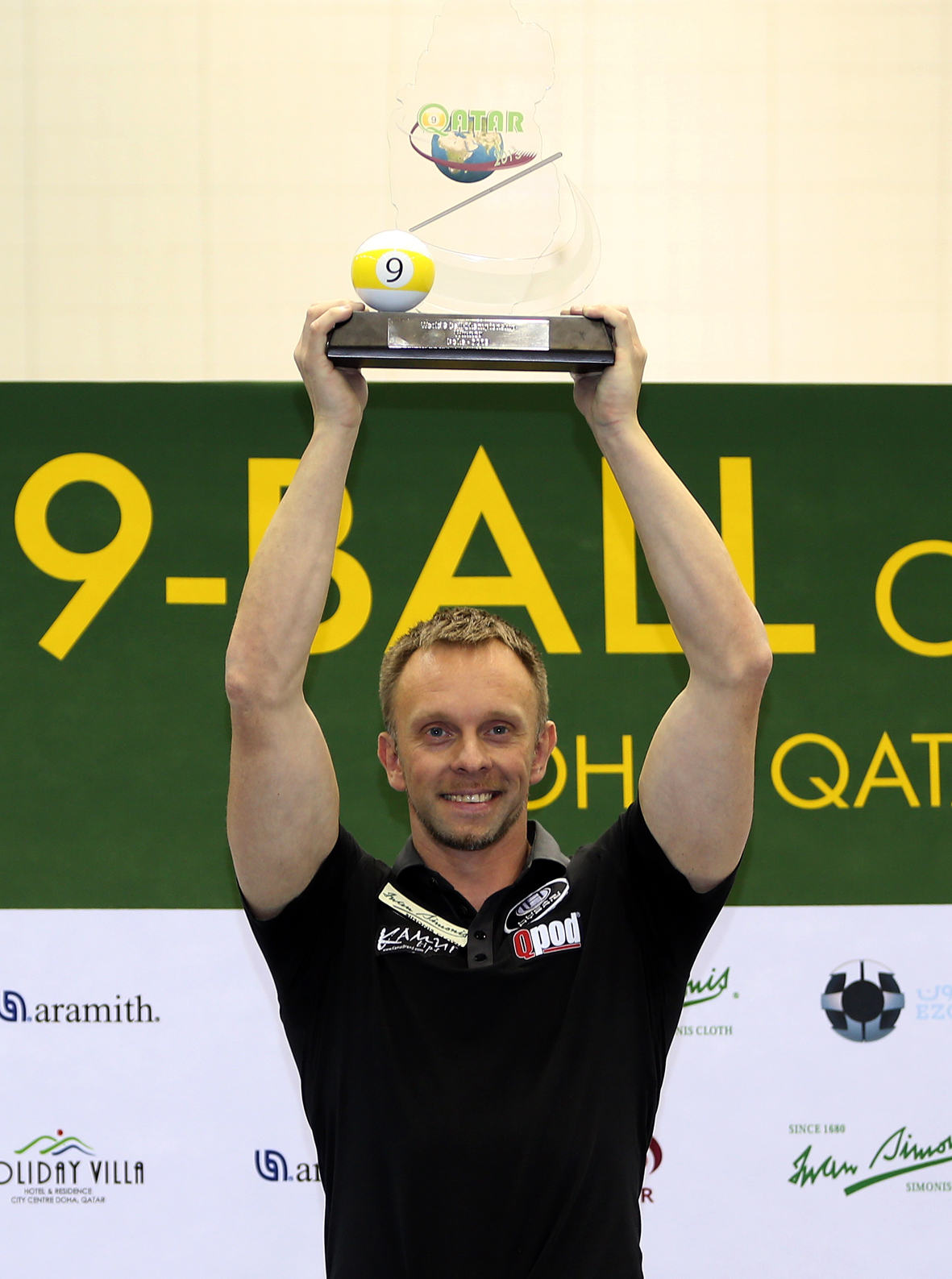 Hohmann Snares Second World 9-Ball Title