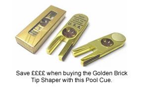Golden Brick Tip Shaper