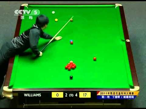 [Snooker 2011-11-29 HQ] Dingjunhui vs Mark Williams 4/6