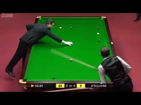 Ronnie O'Sullivan vs Mark Selby (SEMI FINAL) - 2012 Snooker Welsh Open