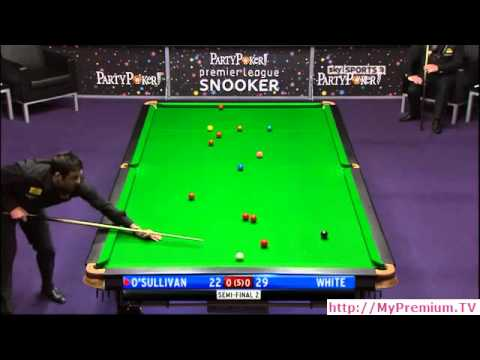 2011 Premier League Snooker - Ronnie O'Sullivan vs. Jimmy White - 1 of 3