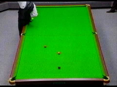 Jimmy White massé shot - coolest snooker shot of all time