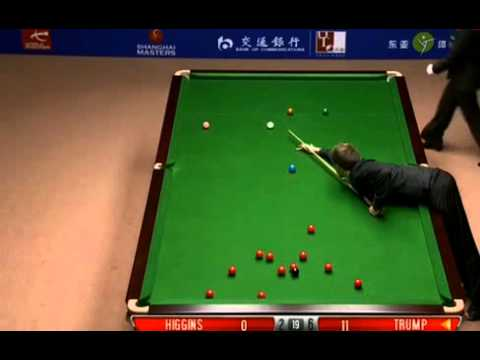 World Snooker Shanghai Masters 2012 FINAL - Trump vs Higgins game 9