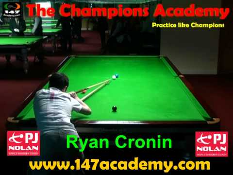 PJ NOLAN SNOOKER ACADEMY PLAYER -- RYAN CRONIN