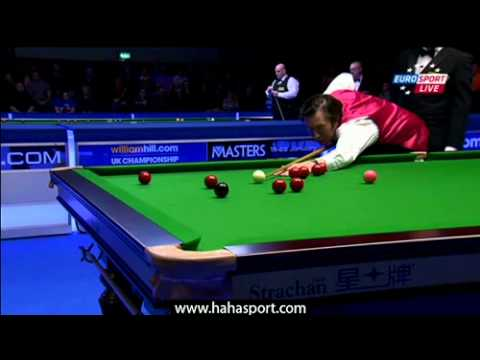 2011 UK Championships Snooker - Judd Trump vs Dominic Dale (Frame 1 - Frame 4)