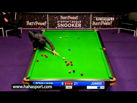 2011 Premier League Snooker - Final - O'Sullivan vs. Ding - 3 of 6