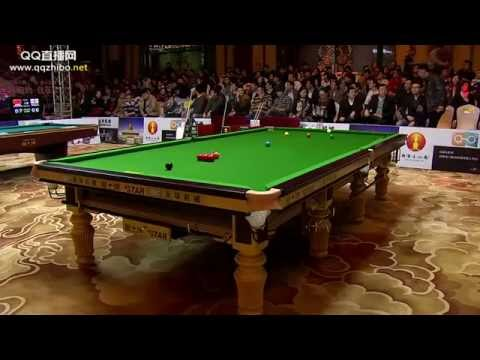 O'Sullivan - Pan Xiaoting. Billiard Challenge. 6 red Snooker. HD
