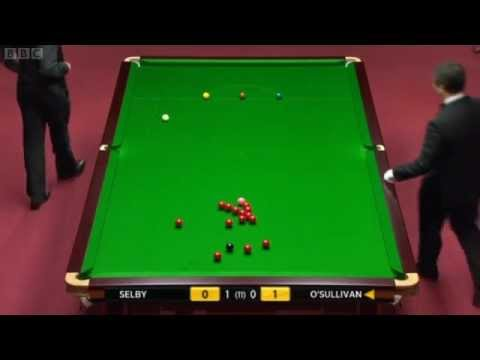 2012 Snooker Welsh Open SF Ronnie O'Sullivan vs Mark Selby