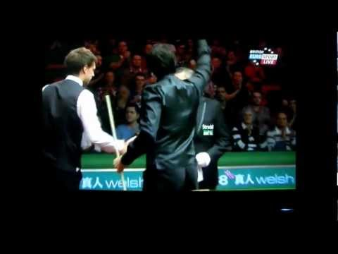Snooker - 2012 Welsh Open - Ronnie defeats Judd (5 frames to 3).