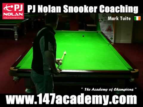 THE WHILWIND POTS - PJ NOLAN SNOOKER ACADEMY TRAINING ROUTINE