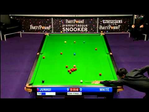 2011 Premier League Snooker - Jimmy White vs. Ding Junhui - 1 of 5